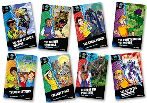 Download Project X Alien Adventures: Dark Blue Book Band, Oxford Levels 15-16: Dark Blue Book Band, Mixed Pack of 8 pdf