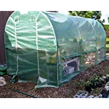 Limited Time & Qty Sale! Quictent® 12' X 7' X 7' Portable Greenhouse Large Walk-in Green Garden Hot House High Quality Gift