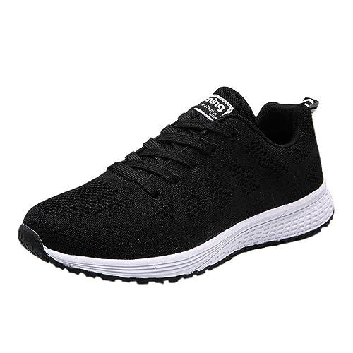 QUICKLYLY Zapatillas de Mujer,Zapatos de Corriendo,Calzado Casual y Deportivo para Ligeras De Gimnasia De Yoga Casuales Deportivas