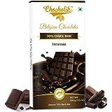 Chocholik Belgium Chocolates Dark 70% Intense Bar 100Gms