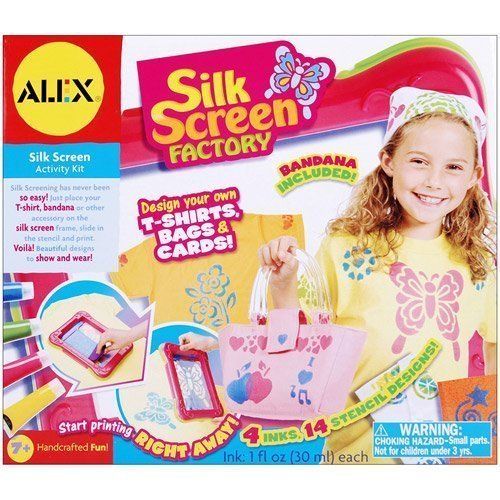 - ALEX Toys - Silk-Screen Factory Kit