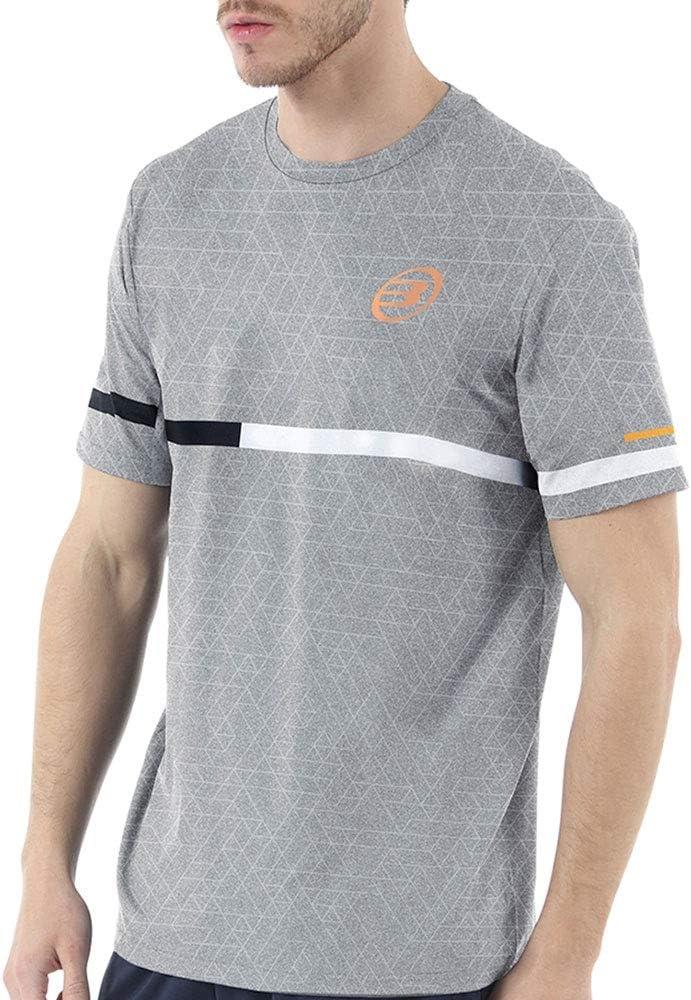 Bull padel Camiseta BULLPADEL INTRIA Gris: Amazon.es: Deportes y ...