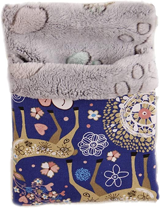 Loghot Cotton Small Pet Hanging Bed Sleep Pouch Comfortable Warm Pet Sleep Bag for Small Animals