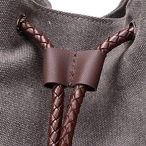 Super Modern - Bolso al hombro para hombre marrón marrón azul 1