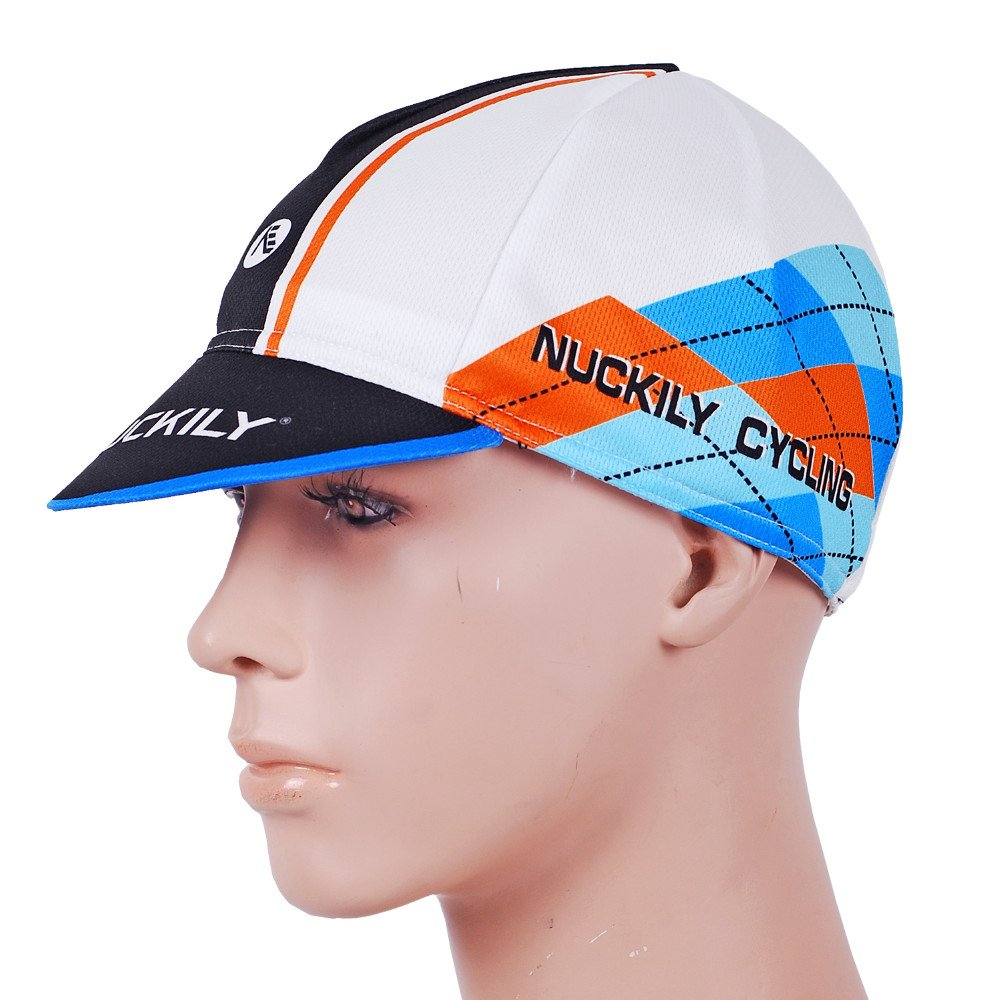 NUCKILY Matching Jersey Suit High Quality Professional Cycling Cap Homme bleu LTD