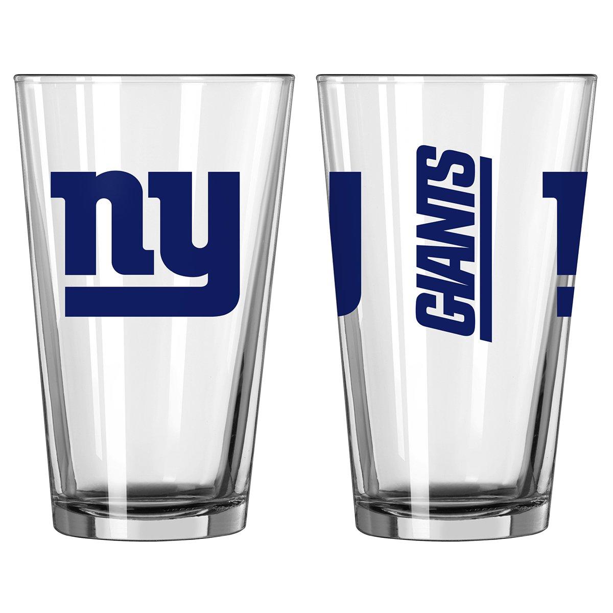 NFL Football New York Giants 16 Ounce Gameday Pint Glass