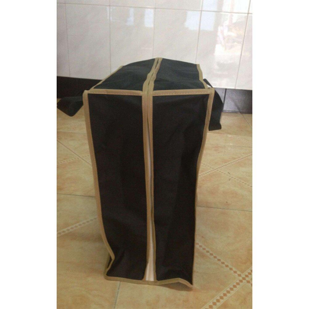 OUNONA Travel Shoe Bag Shoes Storage Bag Portable Shoes Case Organizer Tote Bag Black