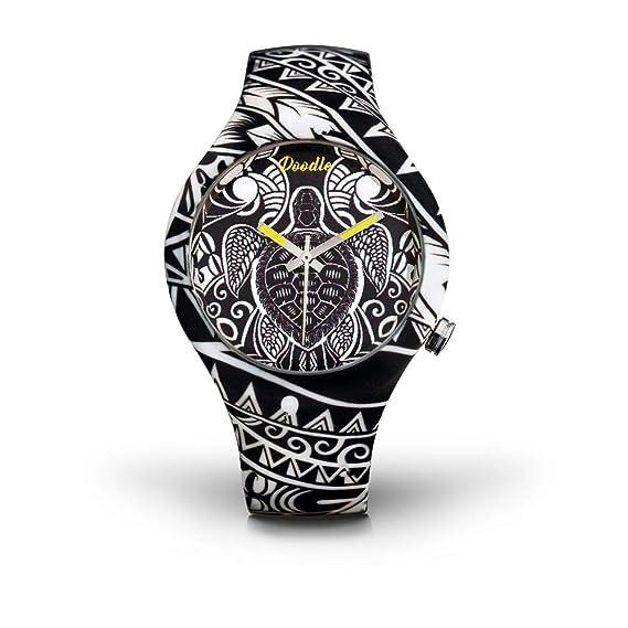 Doodle - Reloj de pulsera unisex Tattoo Mode, Diseño de tortuga: Amazon.es: Relojes