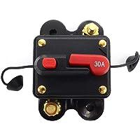 Honeyhouse Auto Reset veiligheidsschakelaar 12-24 V, zekeringsautomaat 30 A - 300 A zekeringsautomaat stroomonderbreker…