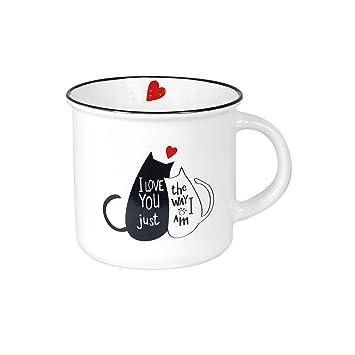 Regalos Rétro 12 Tasse Porcelaine Vidal Blanc Cm Mug D9IEH2