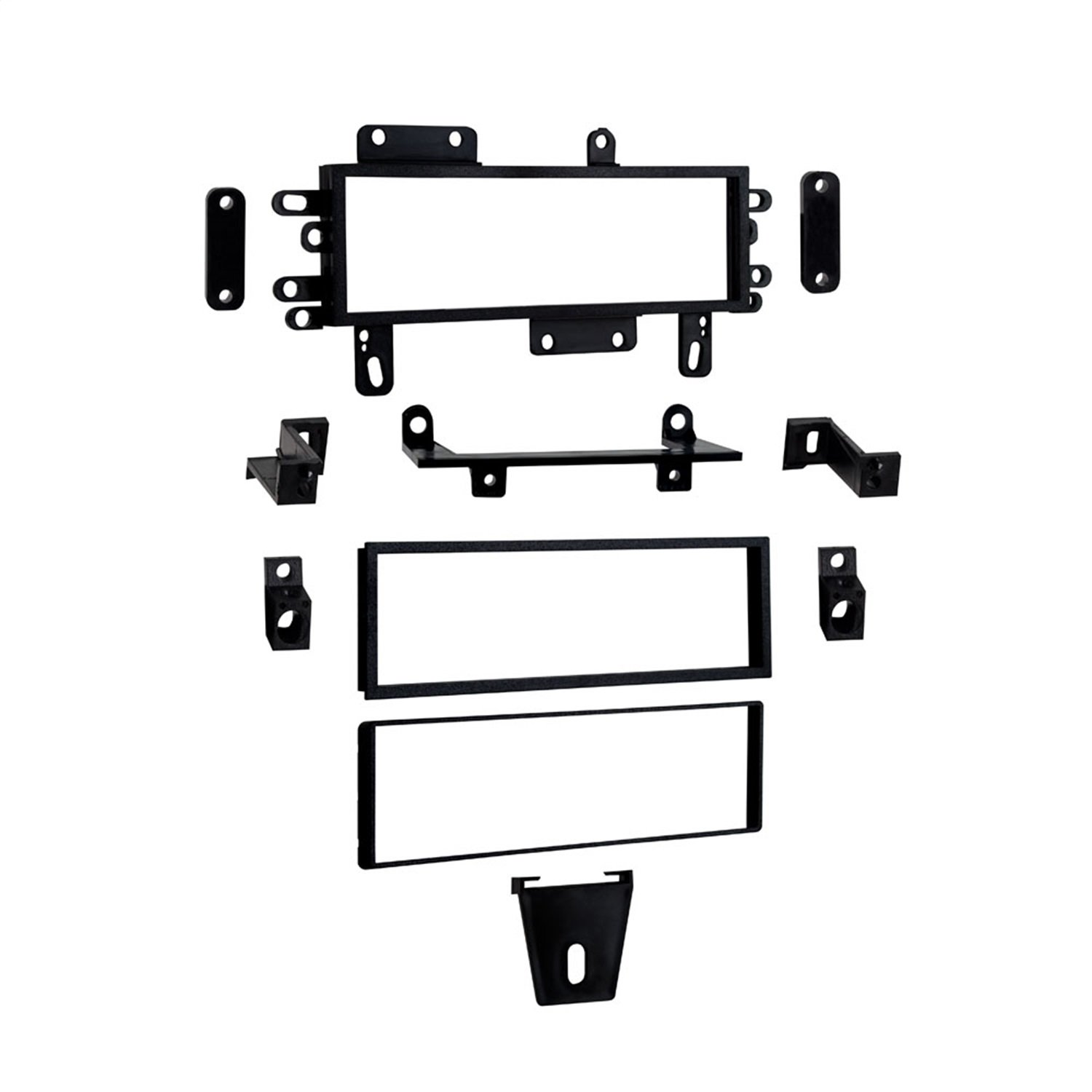 Amazon.com: Metra 99-5510 Installation Multi-Kit for Select 1982-up  Ford/Mercury/Jeep Vehicles (Black): Car Electronics