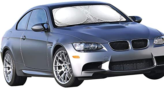 Fits Windshields of Various Sizes Licenslate MAR-VIN The MA-RTIAN Car Windshield Sun Shade,Automotive Front Window Protector Sunshade to Keep Your Vehicle Cool,Blocks UV Sun Visor,Easy to Use