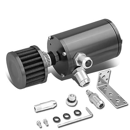 "4.125 ""x 2.36"" universal aluminio anodizado Motor/del depósito de aceite Catch"