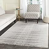 Safavieh Evoke Collection EVK226D Bohemian Vintage Ivory and Grey Area Rug (3′ x 5′)