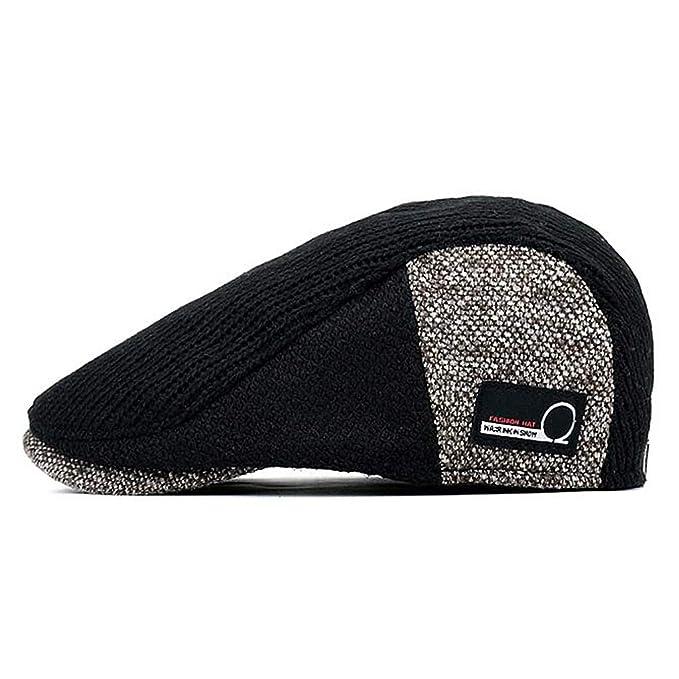 Boina para Hombre Hombre Hiedra Gorra Gatsby Driver Winter Hat. Sobre 57-60CM Ajustable: Amazon.es: Ropa y accesorios