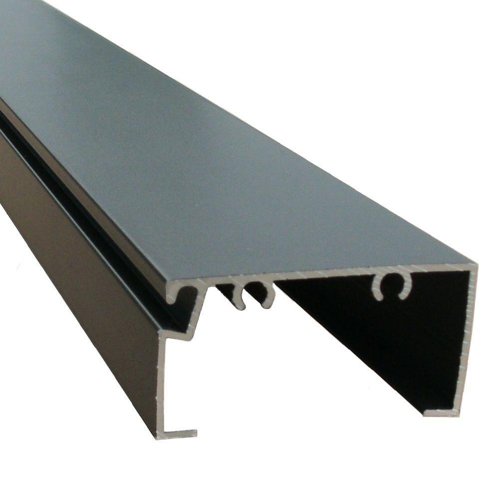 EZ EZ Screen Room 8 ft. x 1 in. x 2 in. Aluminum Bronze Extrusion Open Back