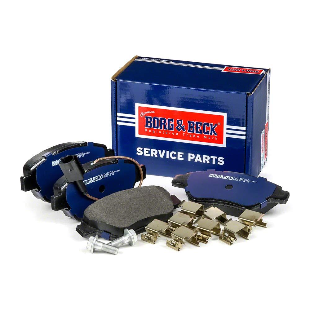 Borg /& Beck BBP1716 Kit pastiglie freno