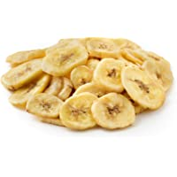NUTS U.S. - Unsweetened Banana Chips, No Sulphure Added & No Artificial Colors, NON-GMO, Natural!!! (1 LB)