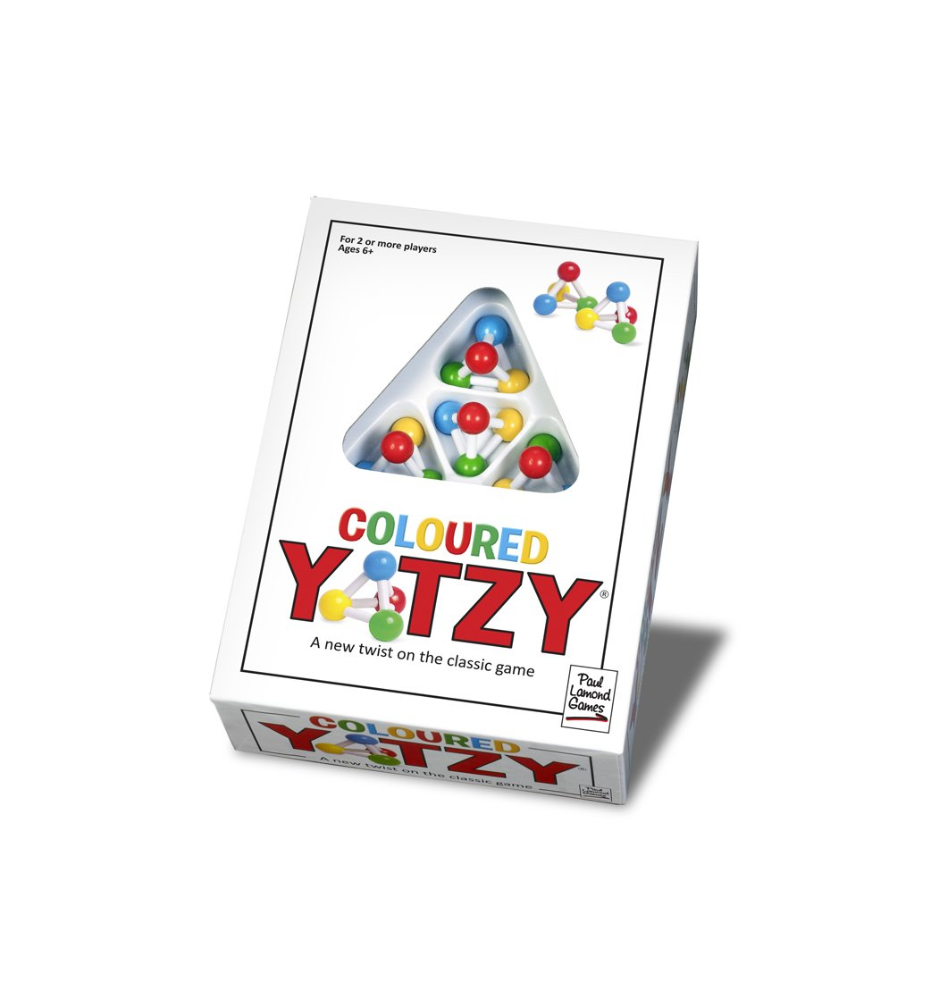 Paul Lamond Coloured Yatzy Skill Game Amazoncouk Toys Games