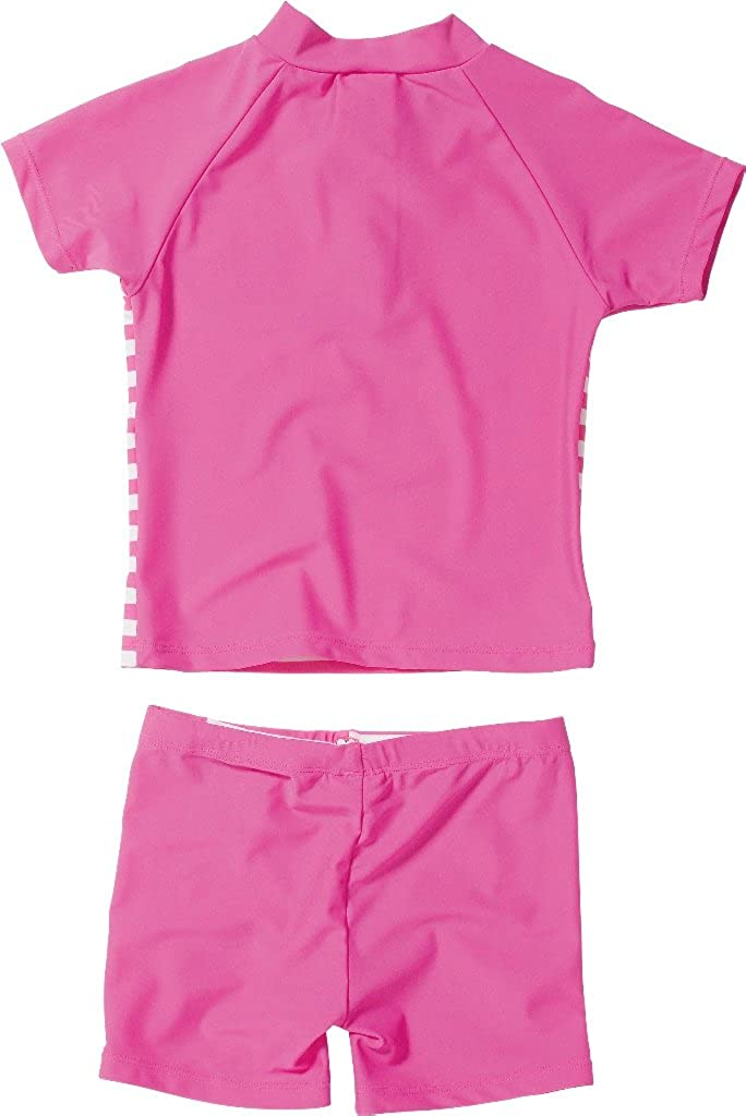 Playshoes UV-Schutz Bade-Set Flamingo T-Shirt Shorts Polyamid Ökotex 100