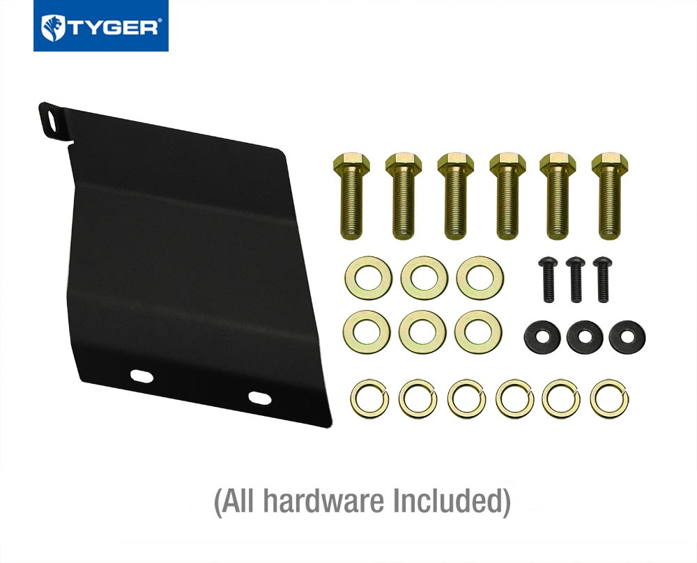 Exclude Full Size Spare Tyger Auto TG-HC3T0168 Class 3 Trailer Hitch Combo with 2 Receiver Cover /& Pin Lock for 2014-2017 Toyota Highlander