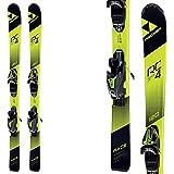 Ski Fischer RC4 Race JR SLR2 Kinder Jugendski Modell 2018 On Piste Rocker + Bindung FJ7 AC SLR