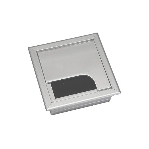 WITTKOWARE - Pasacables de mesa con tapa, aluminio anodizado ...