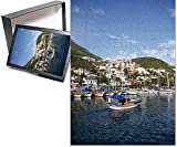 PHOTO JIGSAW PUZZLE. Photo Puzzle (252 Pieces). Artwork depicting Kas, Antalya Province, Anatolia, Turkey, Asia Minor, Eurasia. Professionally made to order in the USA.