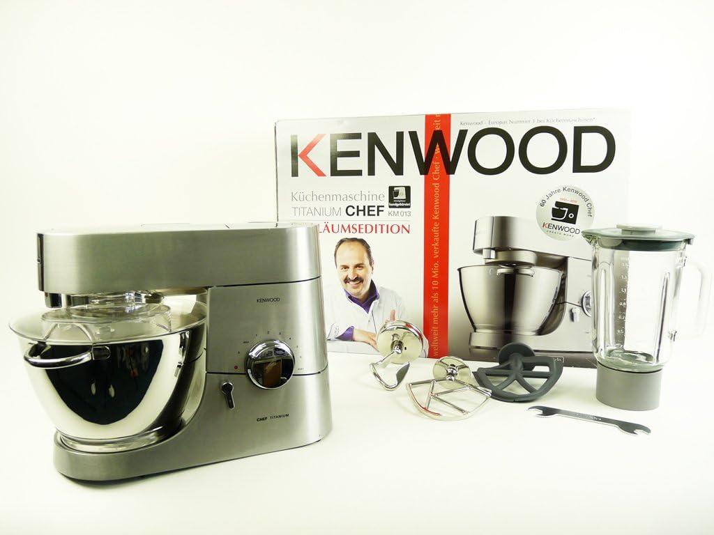 Kenwood KM013, Titanic, 15100 g, 472 mm, 305 mm, 655 mm, Metal - Robot de Cocina: Amazon.es: Hogar