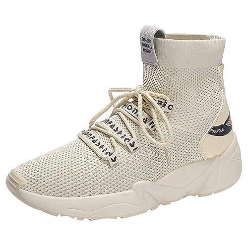 Zapatos Hombre Black Friday Casuales Invierno Zapatillas de Deporte de Malla Transpirables para Hombres Moda Zapatos Casuales Salvajes Zapatos ...