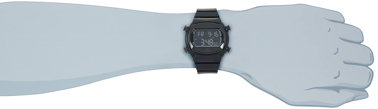 Amazon.com: Adidas Mens ADH1697 Black Candy Digital Watch: Adidas: Watches