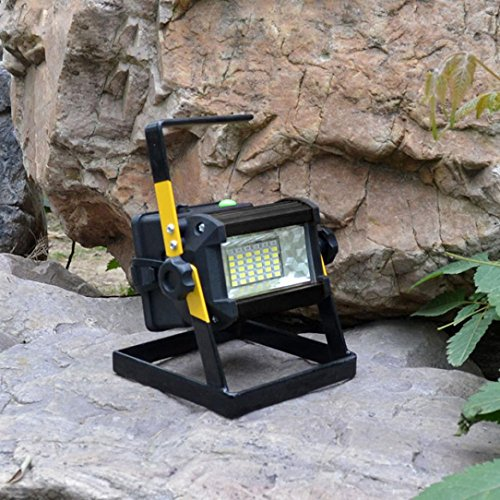 Led Flood Light, Napoo Portable 50W 36 LED Waterproof Rechargeable Worklight Spot Work Lamp Emergency Light For Outdoor Camping, Working, Fishing by Napoo (Image #4)
