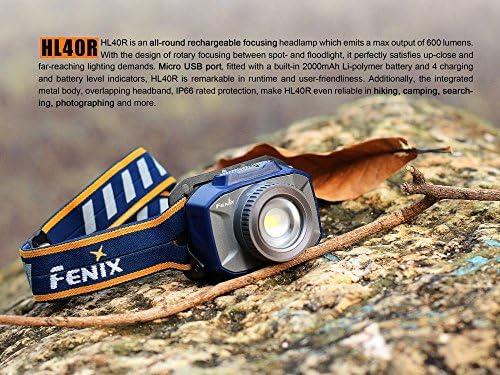 Fenix HL40R Rechargeable Focusing LED Head Torch