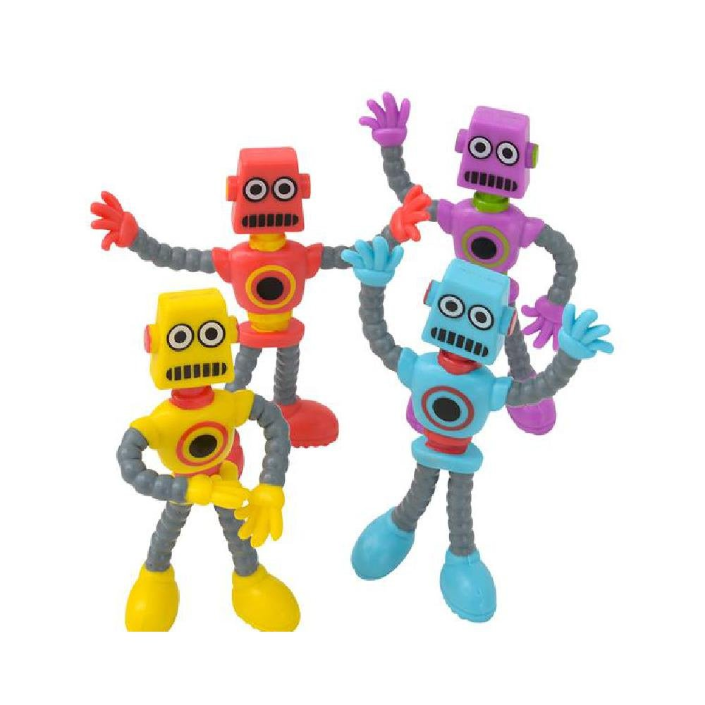 3.5'' Bendable Robot (With Sticky Notes) by Bargain World