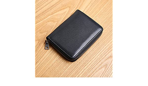 6a4cb9aa1 LLZZPQB Billetera con Cremallera para Hombre Billetera para Mini Monedero  Vertical para Mujer Juventud/Cumpleaños/Regalo/Día De San Valentín/Pareja,  ...
