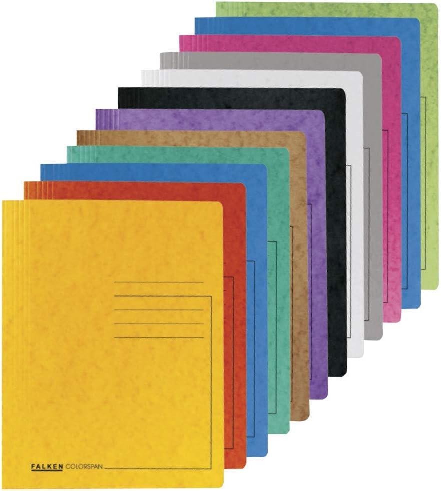 Exacompta 39987E Chemise /à lamelle en carte lustr/ée 355 gm/² avec impression de lignes sur la couverture pour classer ou pr/ésenter jusqu/'/à 350 feuilles de format A4 Rose