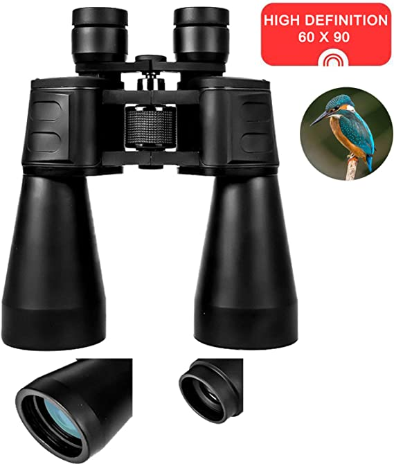 60x90 Binoculars for Adults HD Professional/Waterproof Binoculars with Low Light Night Vision High Power Telescope for Outdoor Sports