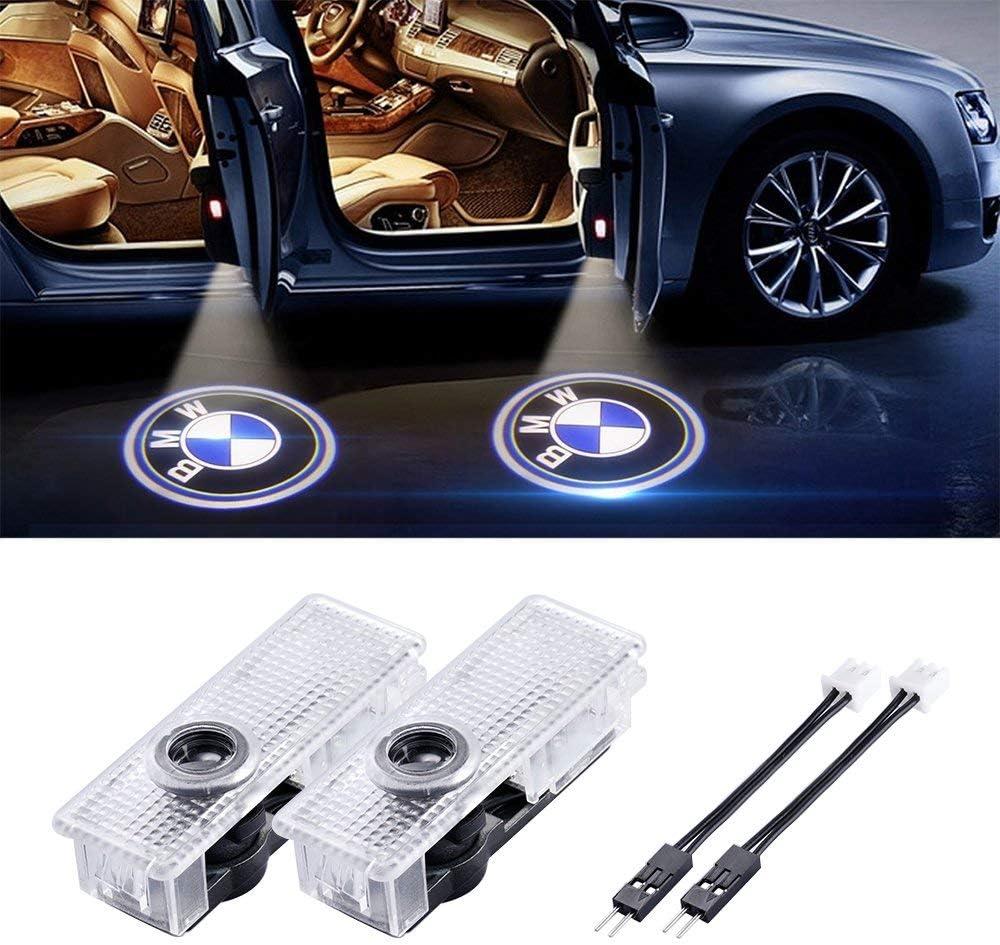 Acce 2 Stück Autotür Logo Einstiegsbeleuchtung Tür Licht Projektion Licht Türbeleuchtung Willkommen Licht Auto