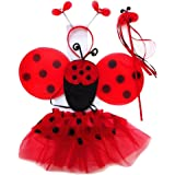 4 Different Themes Toddler Girl's Dress-Up or Costume Wing & Tutu Sets