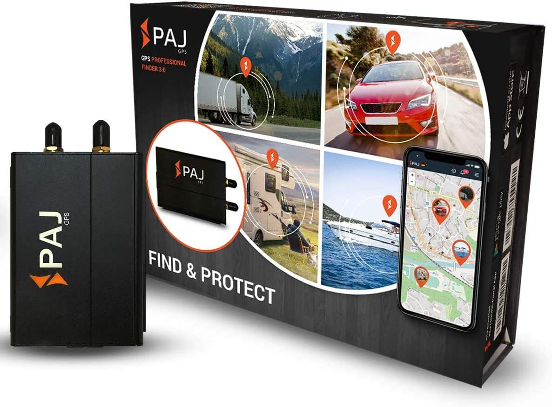 PAJ GPS Professional Finder 3.0 GPS- Marca Alemana- Localizador Protección Antirrobo de Coches, Motos y Camiones con conexión Directa a la batería- ...