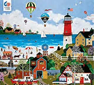 product image for Ceaco The Cape Milford Light 300 Oversized Piece Puzzle by Jane Wooster Scott 18 X 24