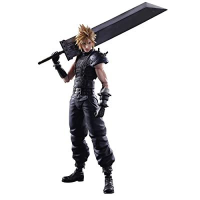 Square Enix Final Fantasy VII Remake Cloud Strife Play Arts Kai Action Figure: Toys & Games