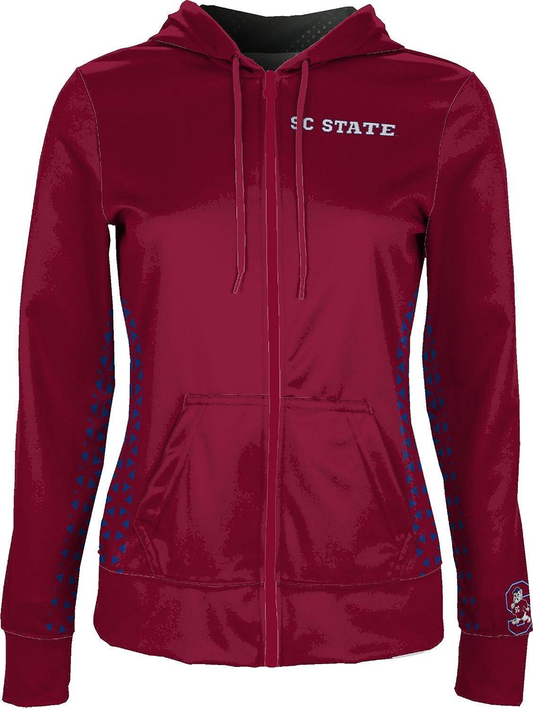 School Spirit Sweatshirt Geo South Carolina State University Womens Zipper Hoodie
