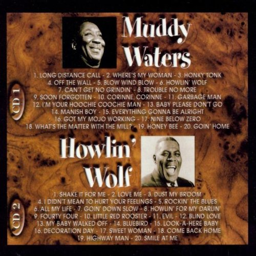 Muddy Waters & Howlin' Wolf: The Gold Collection - 40 Classic Performances