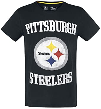 timeless design f0a48 1e35a NFL Pittsburgh Steelers T-Shirt Black