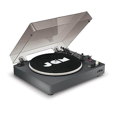 Amazon.com: JAM Spun Out tocadiscos Bluetooth – 33-1/3, 45 y ...