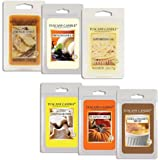 Tuscany Candle Wax Melts Fragrance Bars, 2.5-Ounce, 6 Sampler Pack