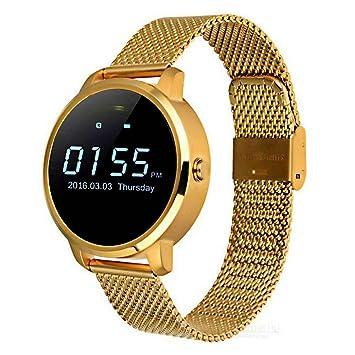 Sport Reloj Redondo, pantalla táctil Smartwatch Teléfono con ...