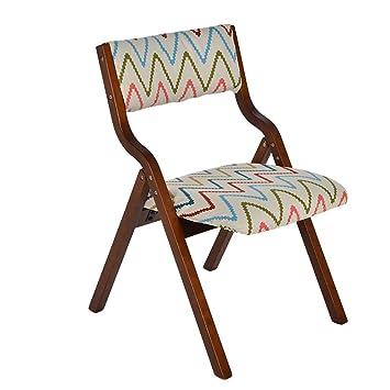 Chen- Asiento corrugado cubierta simple silla plegable de ...