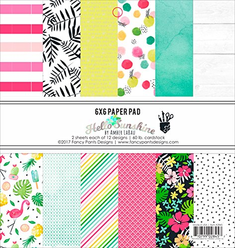 HSS2845 Fancy Pants Designs Single-Sided Paper Pad 6